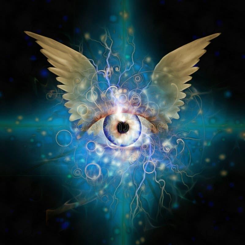 Μάτι Θεών ` s ελεύθερη απεικόνιση δικαιώματος