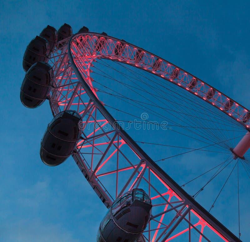 μάτι Λονδίνο στοκ εικόνα με δικαίωμα ελεύθερης χρήσης