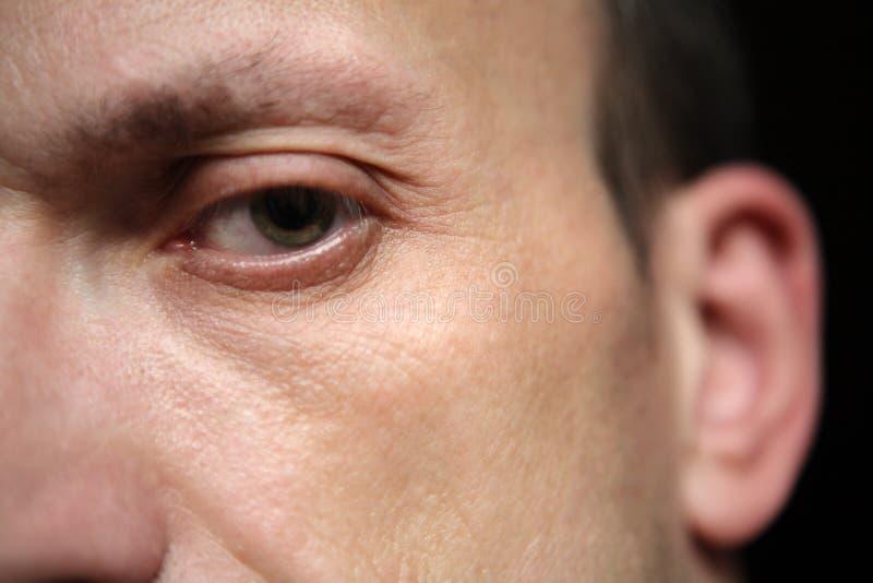 Μάτι του ατόμου στοκ φωτογραφία