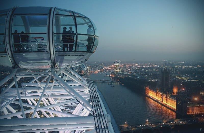 Μάτι του Λονδίνου στοκ φωτογραφίες