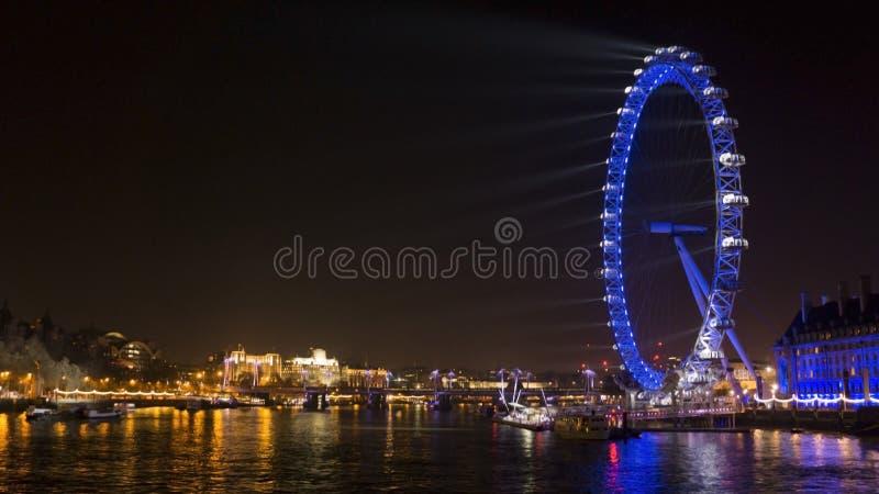 Μάτι του Λονδίνου - LDN στοκ φωτογραφία