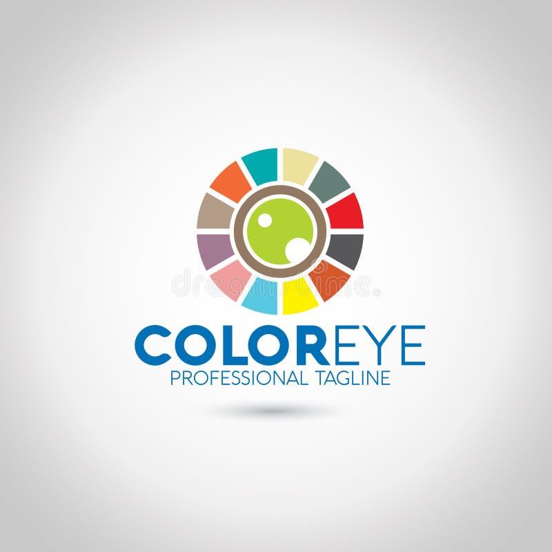 Μάτι χρώματος απεικόνιση αποθεμάτων