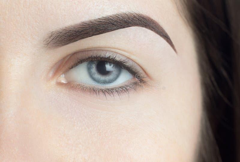 Μάτι - brow γυναίκα στοκ φωτογραφίες με δικαίωμα ελεύθερης χρήσης