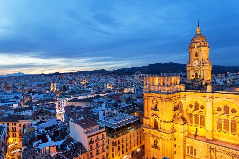 Μάλαγα, Ανδαλουσία, Ισπανία στοκ φωτογραφία