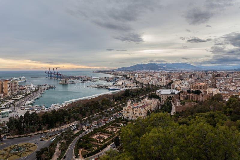 Μάλαγα Ισπανία στοκ εικόνες με δικαίωμα ελεύθερης χρήσης
