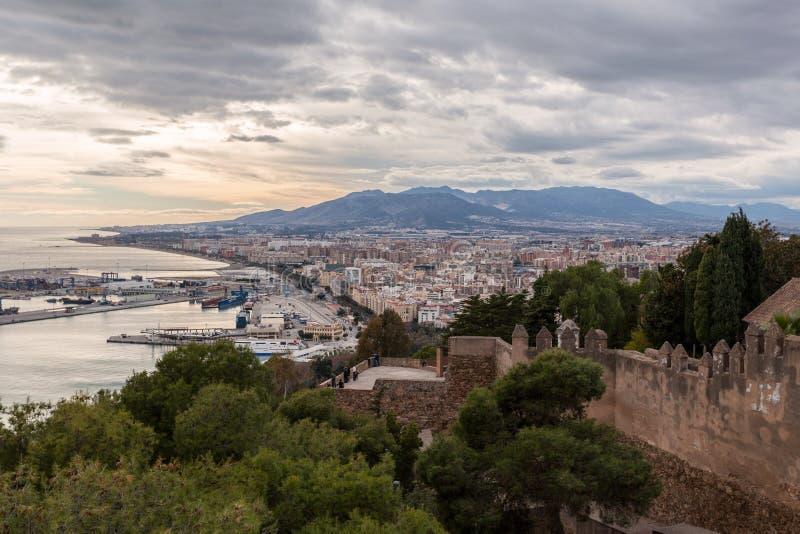 Μάλαγα Ισπανία στοκ εικόνα με δικαίωμα ελεύθερης χρήσης
