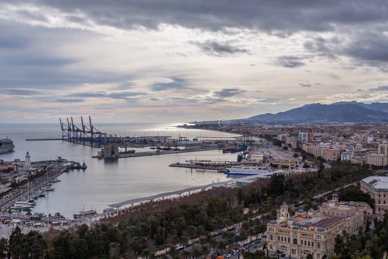 Μάλαγα Ισπανία στοκ φωτογραφία με δικαίωμα ελεύθερης χρήσης