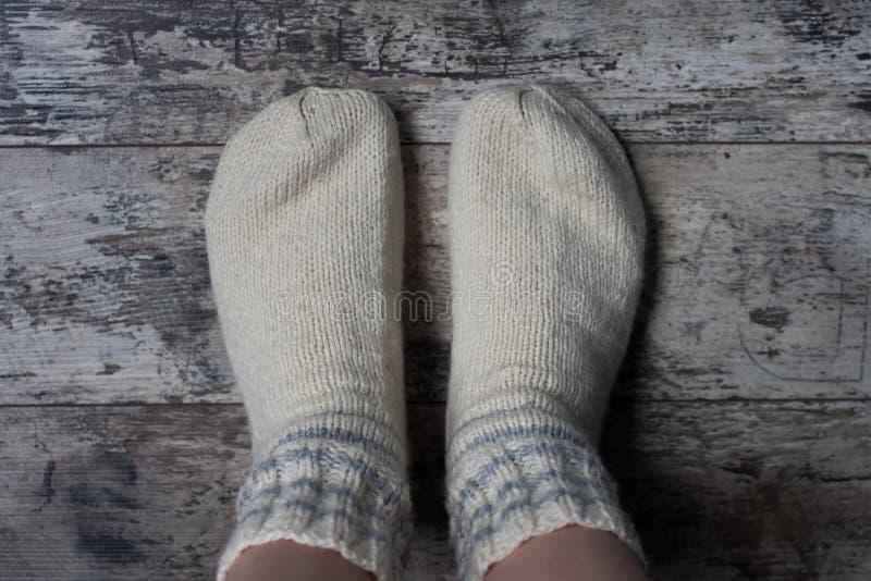 Μάλλινες κάλτσες στοκ φωτογραφίες με δικαίωμα ελεύθερης χρήσης