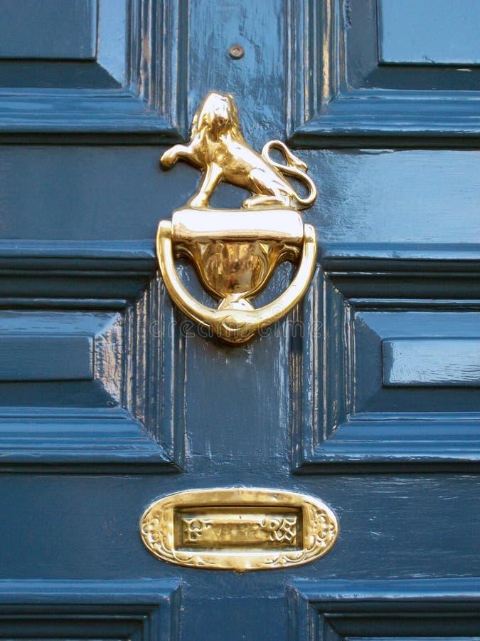 μέγαρο Υόρκη σπιτιών πορτών Στοκ εικόνα με δικαίωμα ελεύθερης χρήσης