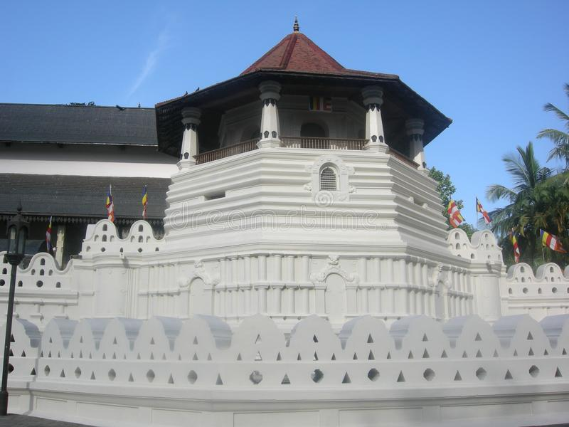 Μέγαρο Dalada kandy στη Σρι Λάνκα στοκ φωτογραφία με δικαίωμα ελεύθερης χρήσης