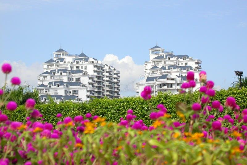 μέγαρο fuzhou της Κίνας νέο στοκ φωτογραφίες
