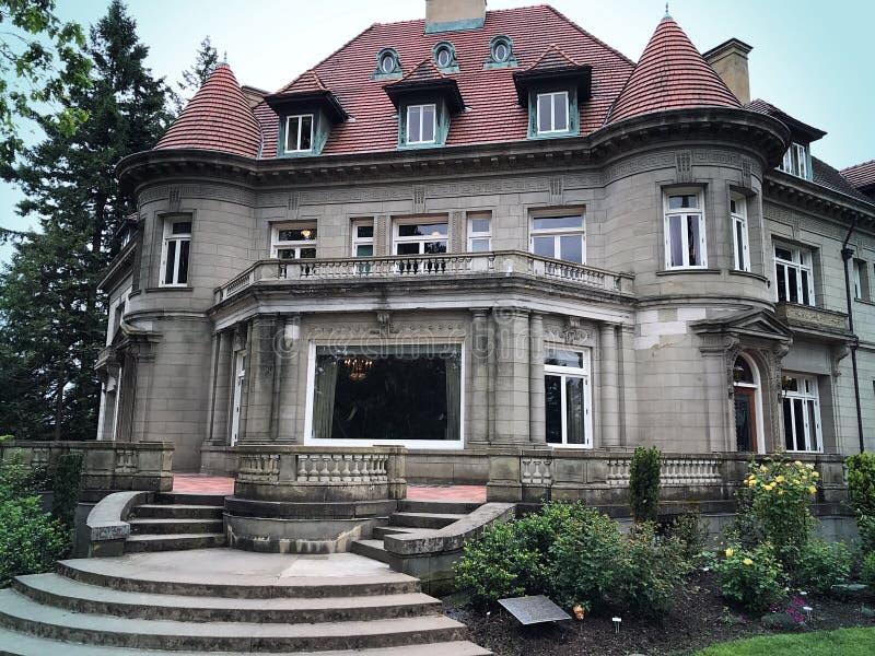 Μέγαρο Pittock στοκ φωτογραφία