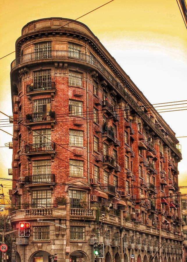 Μέγαρο & x28 Wukang Normandie Apartment& x29 , Σαγκάη, Κίνα στοκ φωτογραφία με δικαίωμα ελεύθερης χρήσης