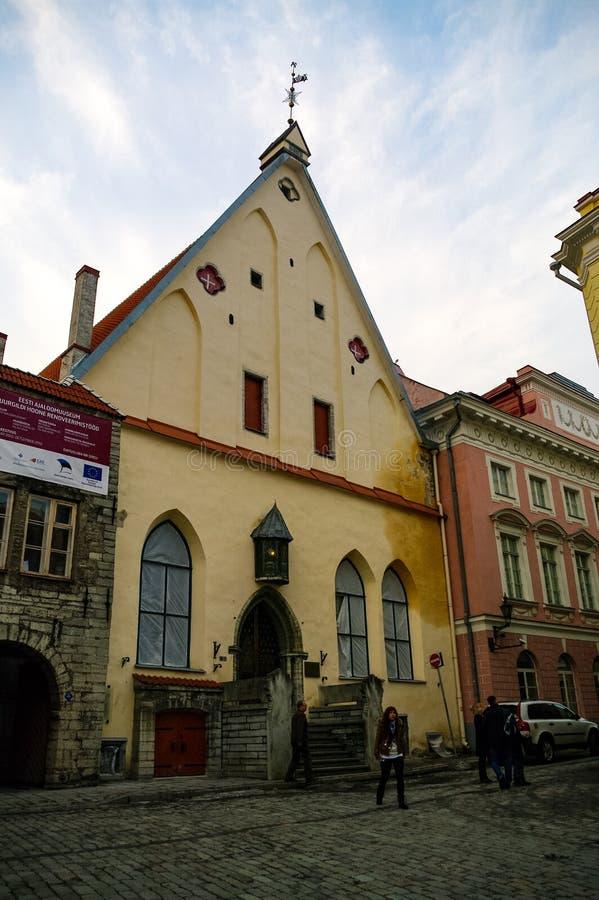 Μέγα Συντεχνείο του Μουσείου στην ριαλαιά ριόλη, Ταλίν, Εσθονία, Βαλτικά κράτη, Ευρώριη στοκ φωτογραφία με δικαίωμα ελεύθερης χρήσης
