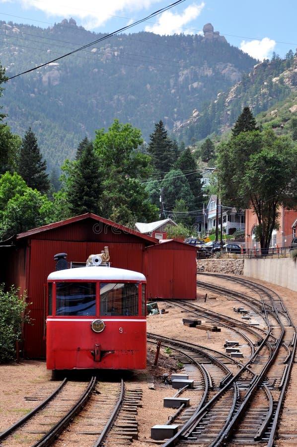 Μέγιστος σιδηρόδρομος βαραίνω λούτσων στοκ φωτογραφία με δικαίωμα ελεύθερης χρήσης