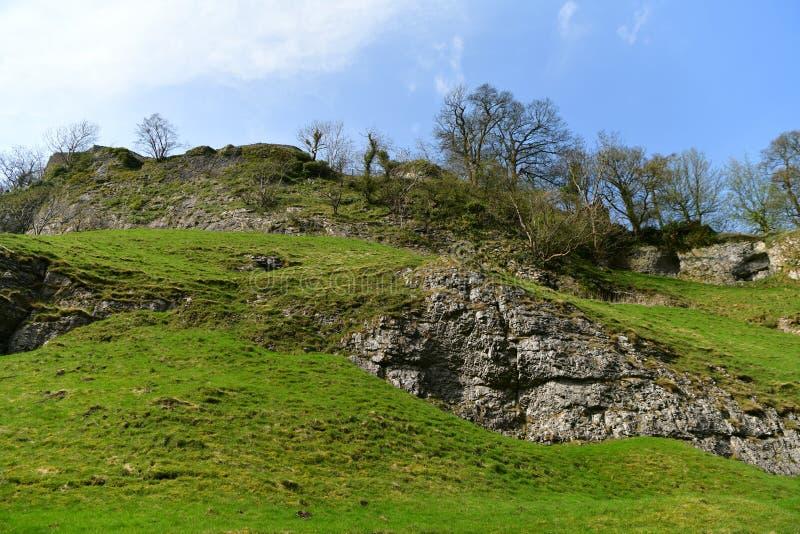 Μέγιστο εθνικό πάρκο περιοχής στο UK στοκ εικόνες με δικαίωμα ελεύθερης χρήσης