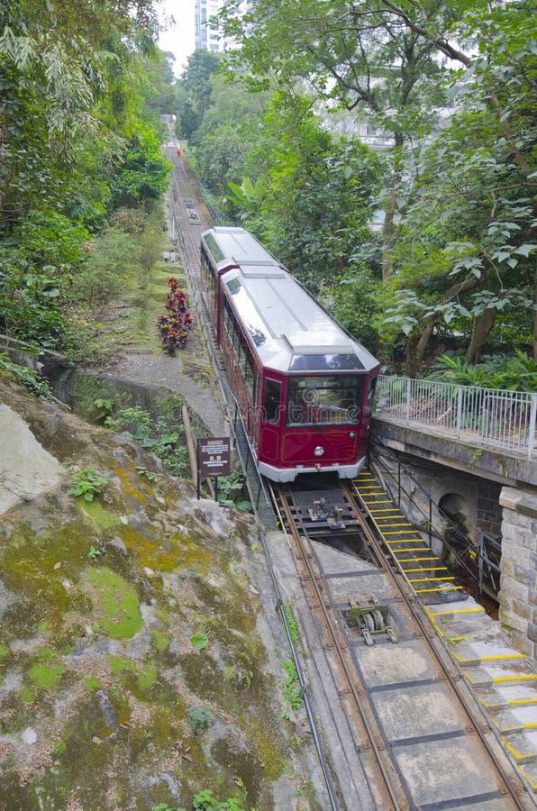 Μέγιστο τραμ Χονγκ Κονγκ στοκ εικόνα με δικαίωμα ελεύθερης χρήσης