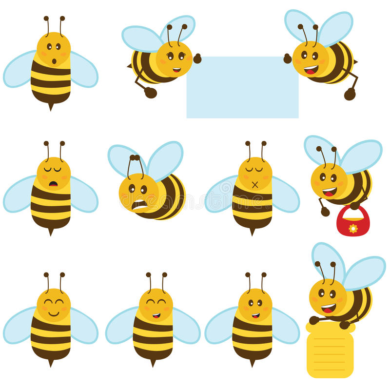 μέλισσα διανυσματική απεικόνιση
