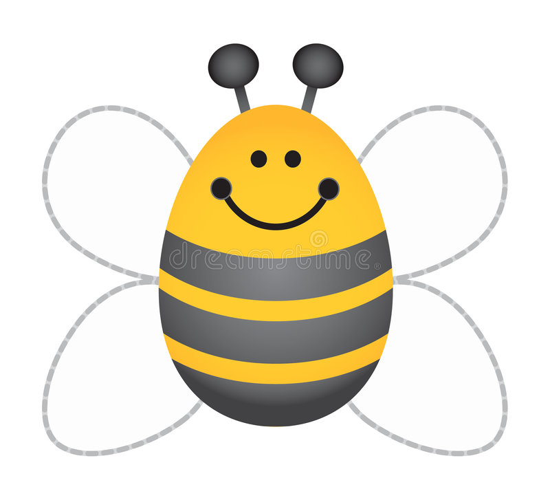 μέλισσα bumble διανυσματική απεικόνιση