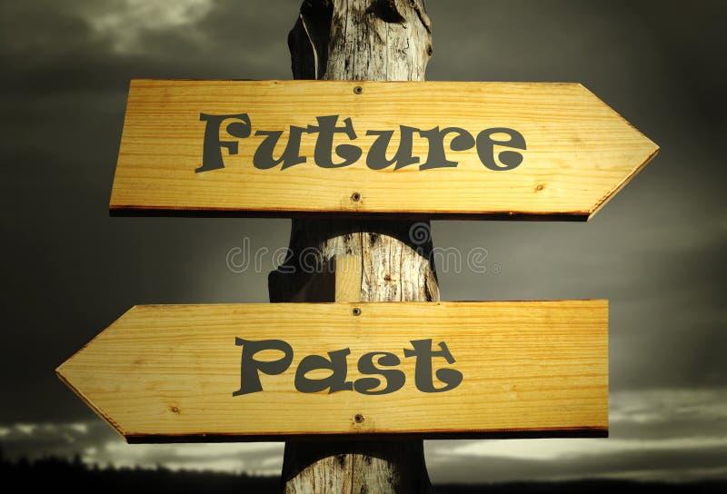 μέλλον από μπροστά στοκ φωτογραφία με δικαίωμα ελεύθερης χρήσης