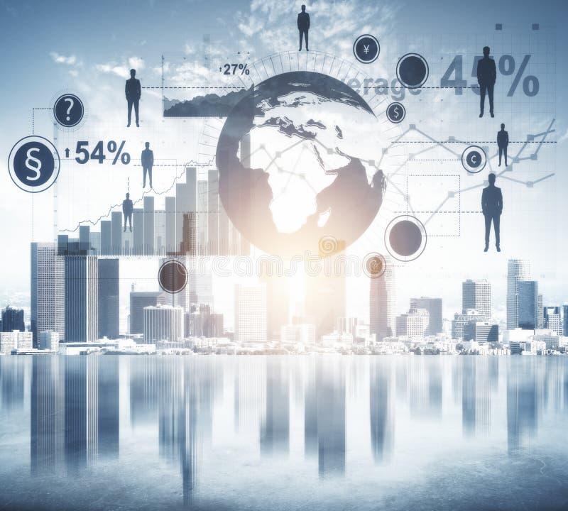 Μέλλον, μέσα και έννοια καινοτομίας απεικόνιση αποθεμάτων