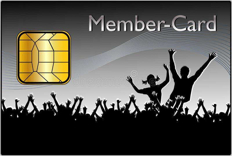 μέλος καρτών ελεύθερη απεικόνιση δικαιώματος