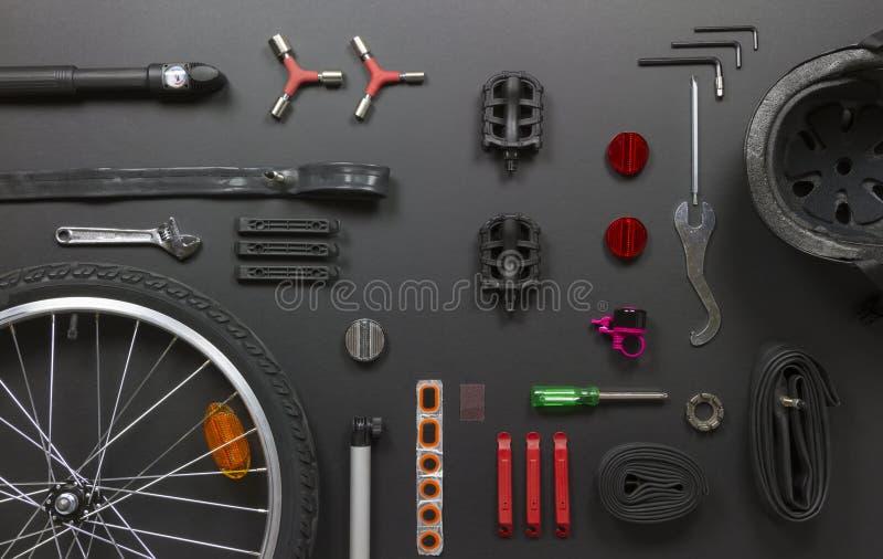 Μέρη ποδηλάτων στοκ εικόνες