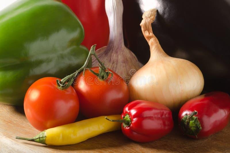 μέρη veggies στοκ εικόνες