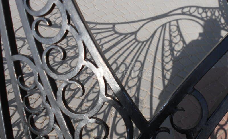 Μέρος ενός ηλιακού ρολογιού φιαγμένου από μέταλλο στοκ φωτογραφίες με δικαίωμα ελεύθερης χρήσης