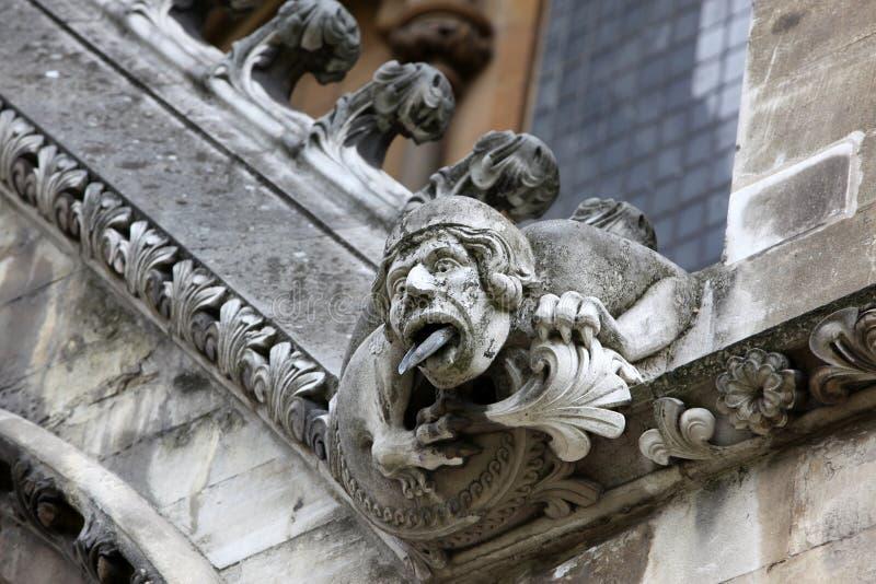 Μέρος του σπιτιού του μοναστήρι του Westminster ενσωμάτωσε αρχικά το 11ο σεντ στοκ εικόνα με δικαίωμα ελεύθερης χρήσης