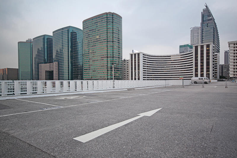 Μέρος χώρων στάθμευσης στοκ φωτογραφίες