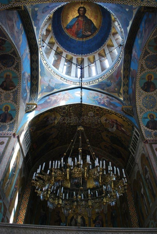 Μέσα στον καθεδρικό ναό του Tbilisi Sioni σε Sionis Kucha, Tbilisi, Γεωργία στοκ εικόνες με δικαίωμα ελεύθερης χρήσης