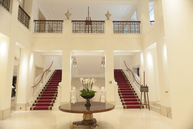 Μέσα στο ξενοδοχείο Adlon Βερολίνο στοκ εικόνα με δικαίωμα ελεύθερης χρήσης