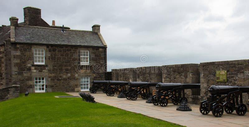 Μέσα στο φρούριο Stirling Castle στοκ φωτογραφία