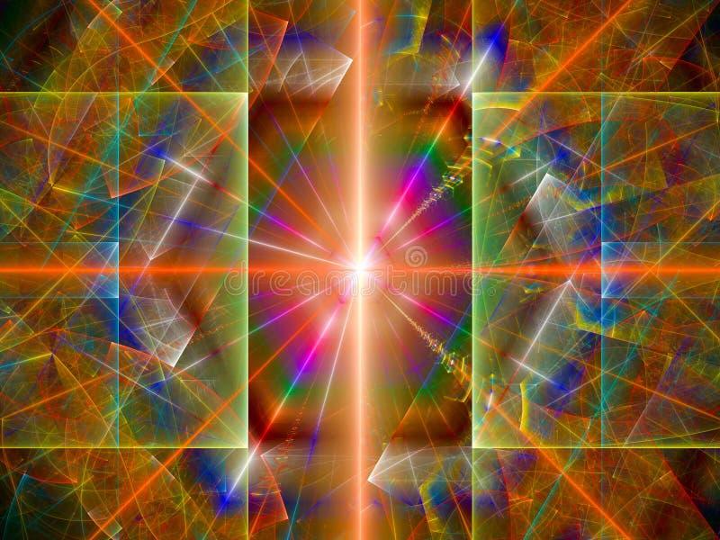 Μέσα του μεγάλου hadron collider διανυσματική απεικόνιση