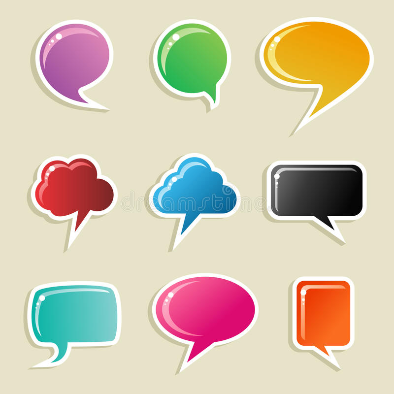 Download μέσα φυσαλίδων που τίθενται κοινωνικά Διανυσματική απεικόνιση - εικονογραφία από αλληλεπίδραση, μέσα: 22777433