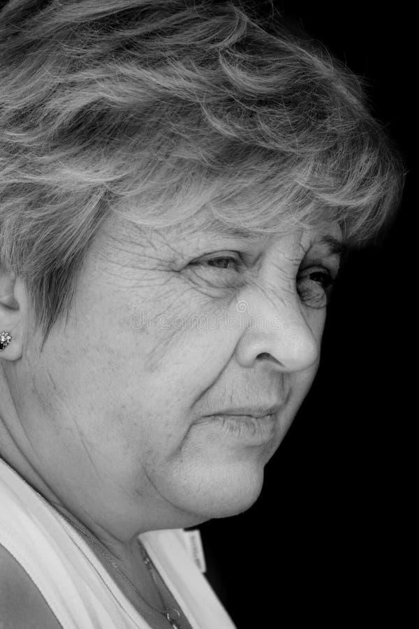 Μέσης ηλικίας γυναίκα στοκ εικόνες