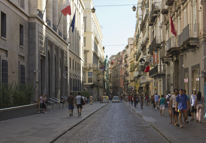 Μέσω της οδού του Τολέδο στη Νάπολη στοκ φωτογραφία με δικαίωμα ελεύθερης χρήσης