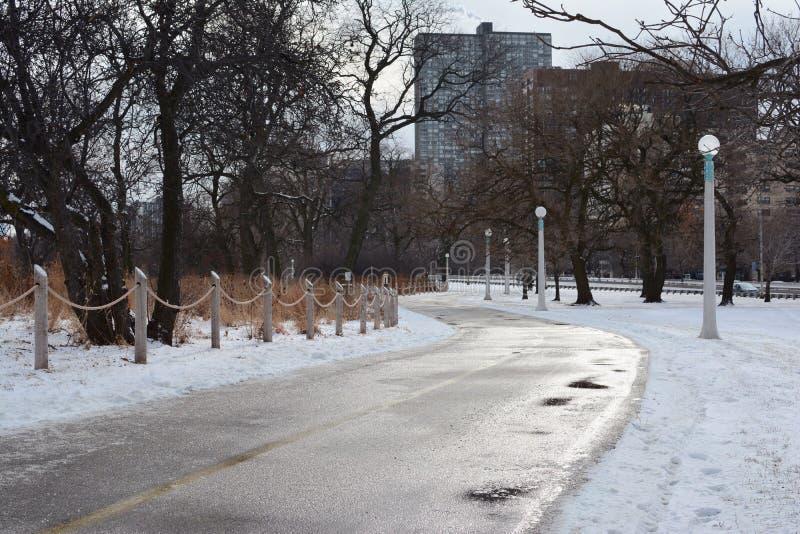 Μέσω του πάρκου στοκ εικόνες