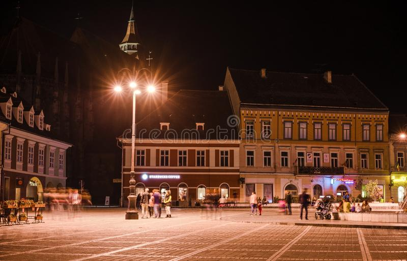 Μέσω του τετραγώνου του Συμβουλίου στοκ φωτογραφίες