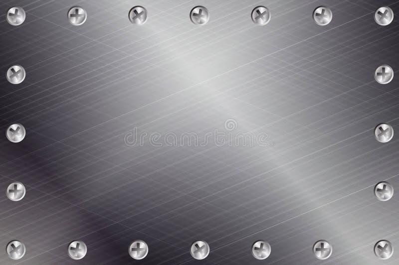 μέταλλο ανασκόπησης διανυσματική απεικόνιση