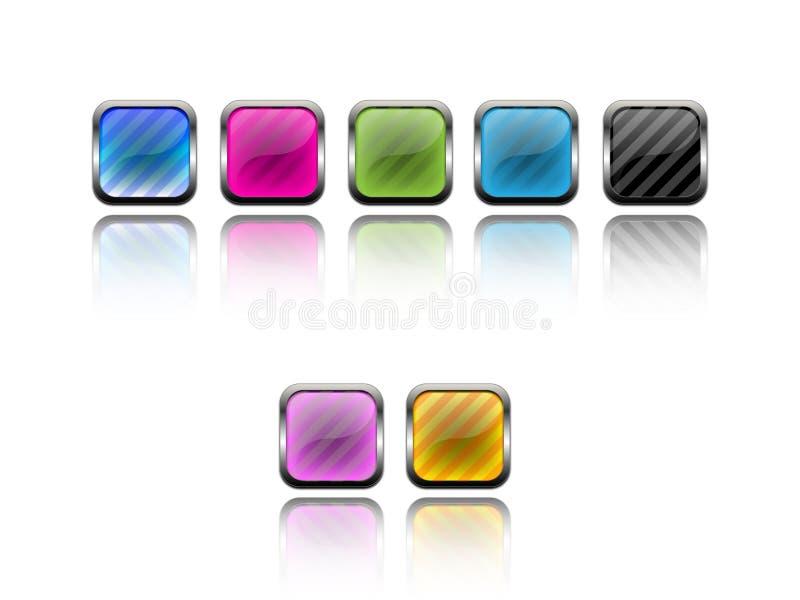 μέταλλο κουμπιών ελεύθερη απεικόνιση δικαιώματος