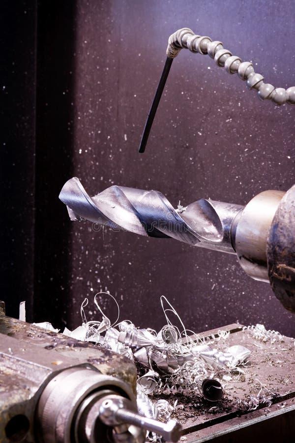 μέταλλο τόρνου στοκ φωτογραφία με δικαίωμα ελεύθερης χρήσης