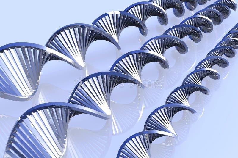Download μέταλλο DNA απεικόνιση αποθεμάτων. εικονογραφία από διπλάσιο - 2227360