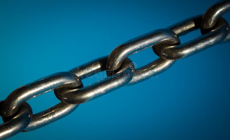 μέταλλο αλυσίδων ισχυρό στοκ εικόνα με δικαίωμα ελεύθερης χρήσης