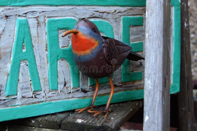 Μέταλλο Robin στοκ εικόνα