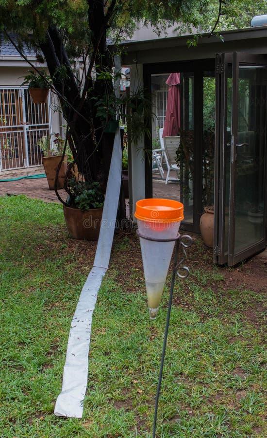 Μέτρα αποταμίευσης νερού στις πληγείσες από την ξηρασία περιοχές στοκ φωτογραφία με δικαίωμα ελεύθερης χρήσης
