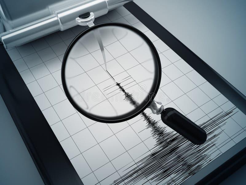 Μέτρα σεισμού απεικόνιση αποθεμάτων