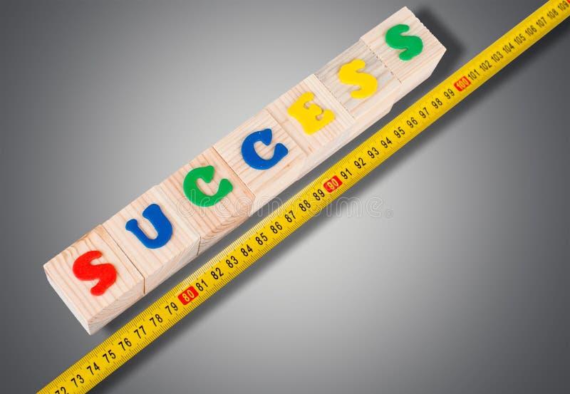 Μέτρηση επιτυχίας στοκ εικόνα