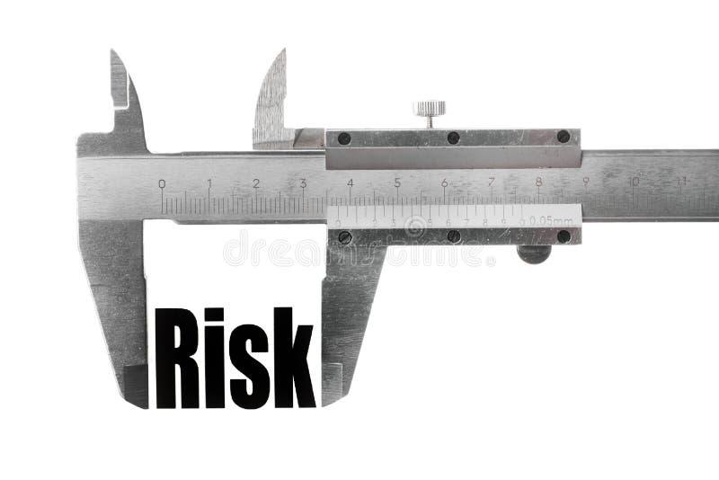 Μέτρηση του κινδύνου στοκ φωτογραφία με δικαίωμα ελεύθερης χρήσης